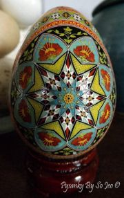 PSYANKA DECORATED EGG