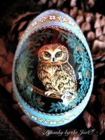 UKRANIAN HANDPAINTED EGG